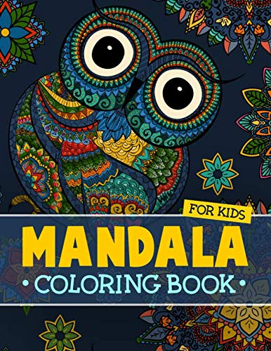 If you and your kids enjoy coloring mandala books to feel relaxed and stress free, then you need to try this coloring book. Not only adults feel stressed and tense, kids need a break and a way to get all that stress and tension out of the sys...
