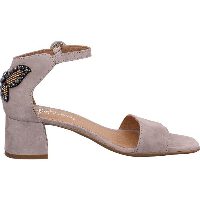 Alpe Woman Shoes 3697-12-38, Sandales pour Femme 38 - Gris - Gris, 37 EU