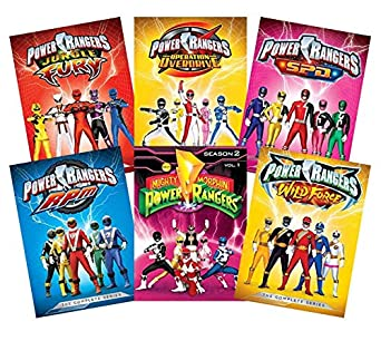 Amazon.com: Ultimate Power Rangers 6-Volume DVD Collection ...
