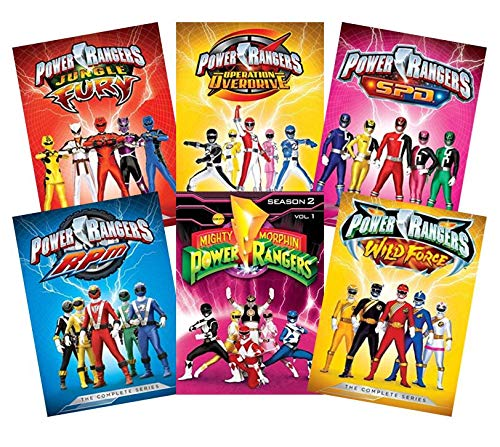 Ultimate Power Rangers 6-Volume DVD Collection: Jungle Fury / Operation Overdrive / S.P.D. / RPM / Wild Force / Mighty Morphin Power Rangers [SPD / R.P.M] [Complete Series Collections]