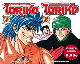 Pack Toriko nº 01 + nº 02 (Manga Shonen): Amazon.es: Shimabukuro, Mitsutoshi, Daruma: Libros