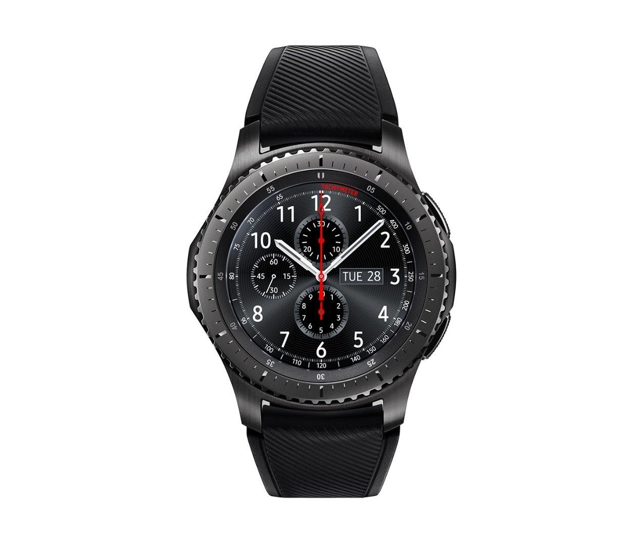 Samsung SM-R760NDAAITV - Gear S3 Frontier Smartwatch, GPS, IP68, Grigio/Nero [Versione Italiana]