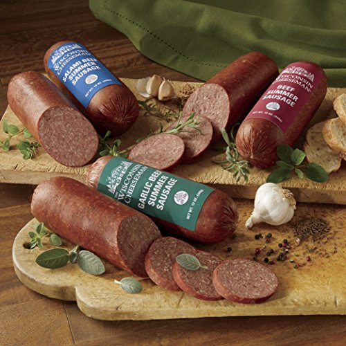 4-Pack Savory Sausage from Wisconsin Cheeseman