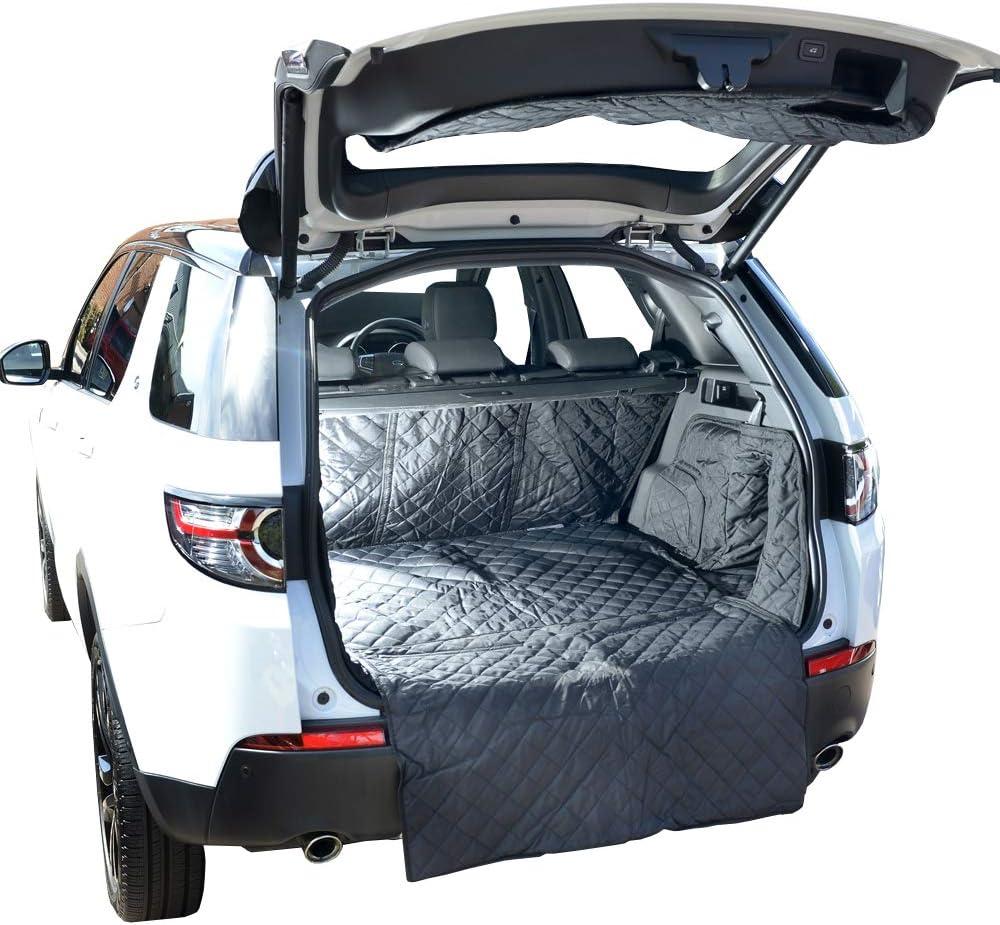 UK Custom Covers QBL228B Tappetino conformato per bagagliaio trapuntato