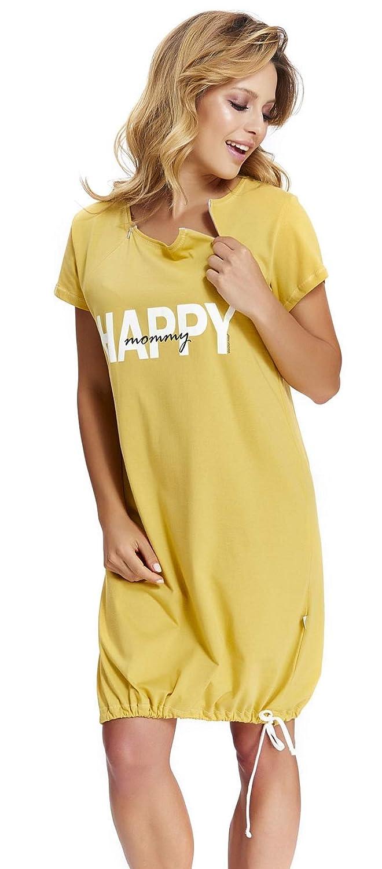 dn-nightwear Womens Maternity Night Shirt
