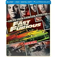 The Fast and the Furious UltraViolet on Blu-ray/DVD