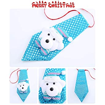 Macabolo - 4 paquetes de corbatas con lentejuelas para Navidad ...