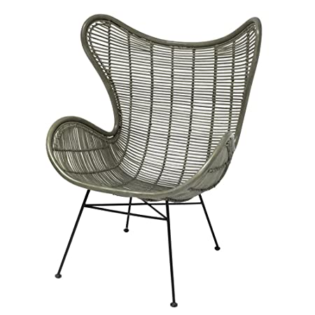 Egg Chair Hk Living.Hk Living Rattan Egg Chair In Army Green Amazon Co Uk
