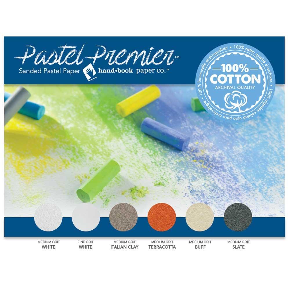 Pastel Premier Sanded Pastel Paper 12X16 Asst GLOBAL ART MATERIAL