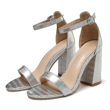 2019 prezzo all'ingrosso scarpe eleganti grande varietà Subfamily❀Parola di Donna Fibbia con Sandali Bocca Poco ...
