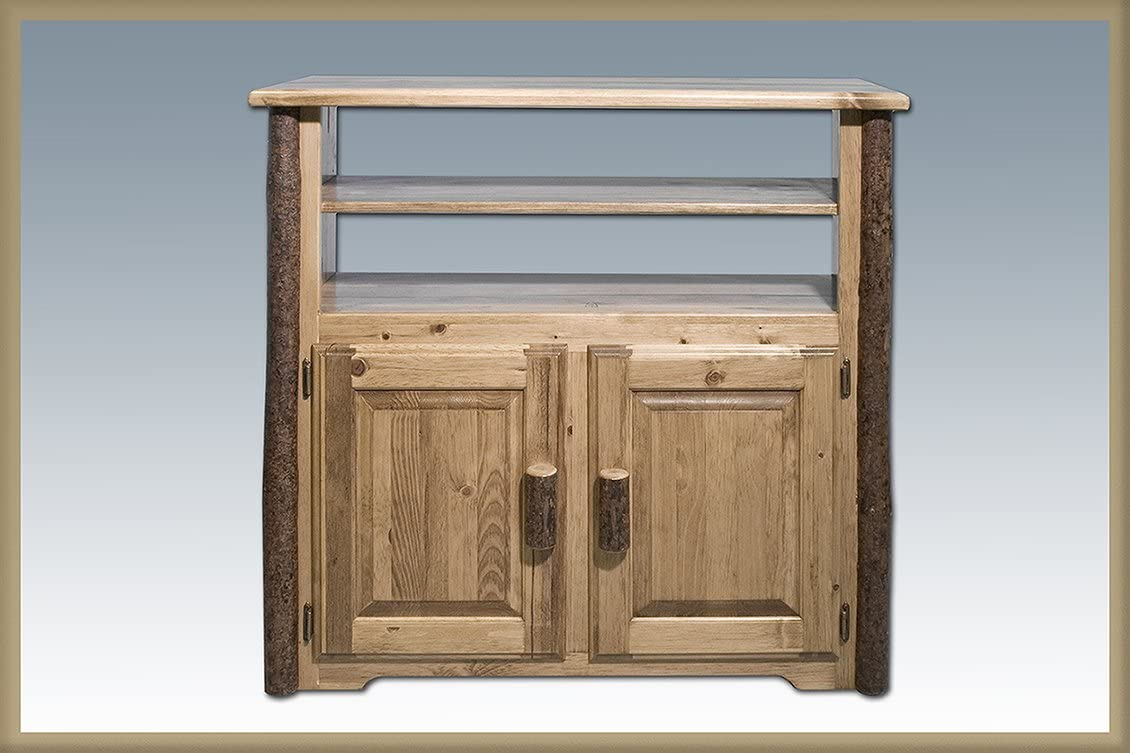 Montana Woodworks Glacier Country Collection Media Center