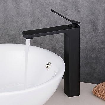 Armatur Schwarz beelee wasserhahn hohe schwarz bad armatur waschbecken