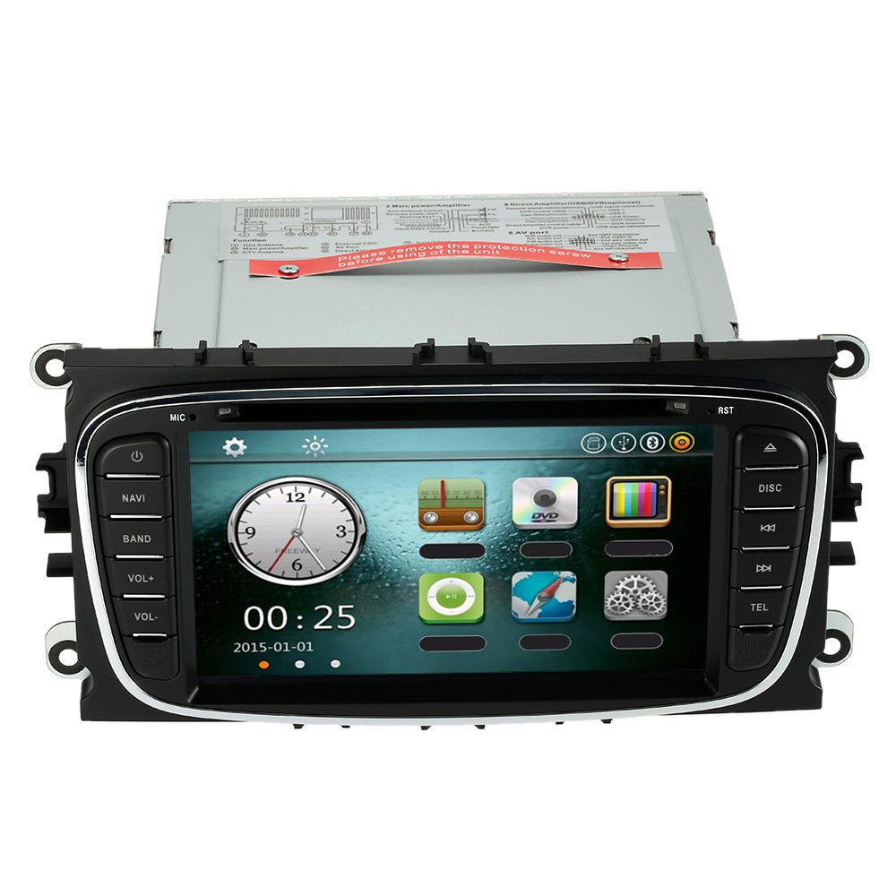 KKmoon Car Stereo Head Unit for Ford Focus Mondeo: Amazon.co.uk: Electronics