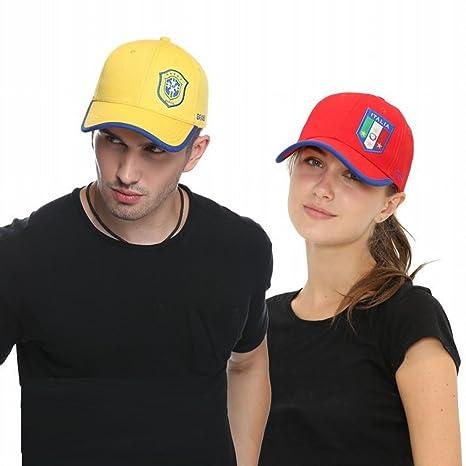wei Fanáticos del fútbol Nacional Sombreros Casuales Gorras Deportivas  Gorras de béisbol da462c44727