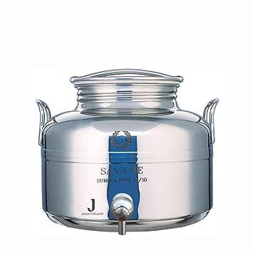 olivenölfaß, edelstahl mit zapfhahn, 2l: amazon.de: küche & haushalt - Edelstahlbehälter Küche