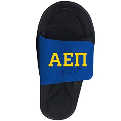 b85ba83ae5a2 Alpha Epsilon Pi Slide On Sandals