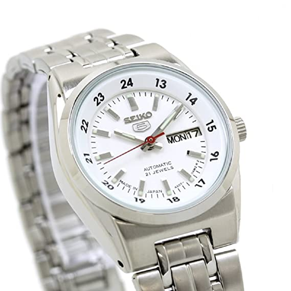 2a7c6a9d4ab SEIKO 5 Automatic watch SYMB93J1 Ladies MADE IN JAPAN  Amazon.ca  Watches
