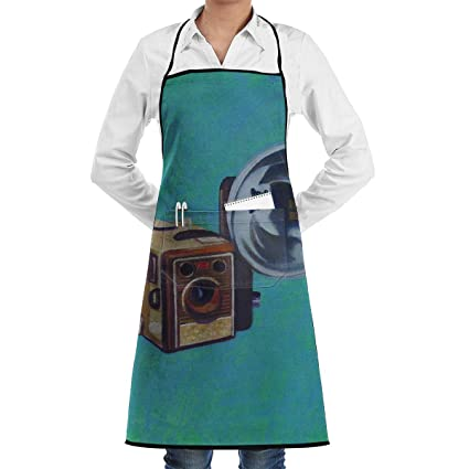 Amazon.com: Kitchen Chef Bib Apron Camera Box Painting Neck ... on 16x20 canvas painting ideas, wine glass painting ideas, spoon rest painting ideas, drawer painting ideas, shot glass painting ideas, bowl painting ideas, ornament painting ideas, mug painting ideas, cooler painting ideas, lazy susan painting ideas, a canvas painting ideas, easel painting ideas, glass jar painting ideas, bird feeder painting ideas, coffee cup painting ideas, pallet knife painting ideas,