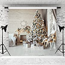 WOLADA 10x10ft Thin Vinyl Photography Christmas Backgrounds Computer Printed Children Photography Backdrops for Photo studio 10800