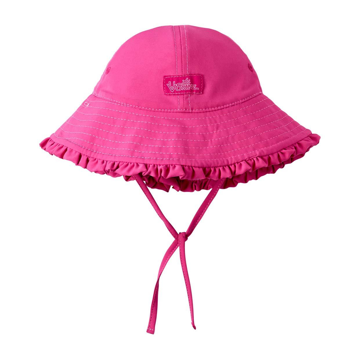 UV Skinz Baby Girls/' UPF 50 Sun-Blocking Hat for Infants Reversible Sun Hat