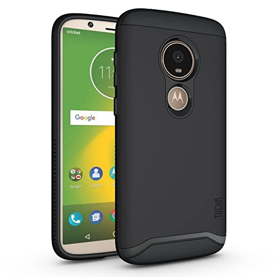 release date: 8aeaa 68151 Moto E5 Play Case, TUDIA Slim-Fit Heavy Duty [Merge] Extreme  Protection/Rugged but Slim Dual Layer Case for Motorola Moto E5 Play (Matte  Black)
