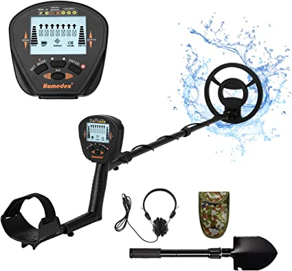 Metal Detector for Adults Ajustable Lightweight Metal Detectors for Child Waterproof Coil High Sensitivity All Metal//Discrimination//Pinpoint Mode