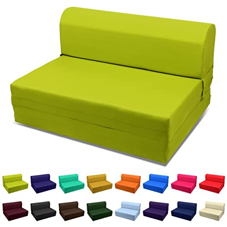 Amazon.com: Sofá cama MaGshion plegable de espuma ...