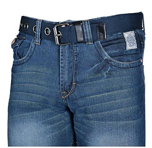 Kam Herren Jeanshose Authentic Blue