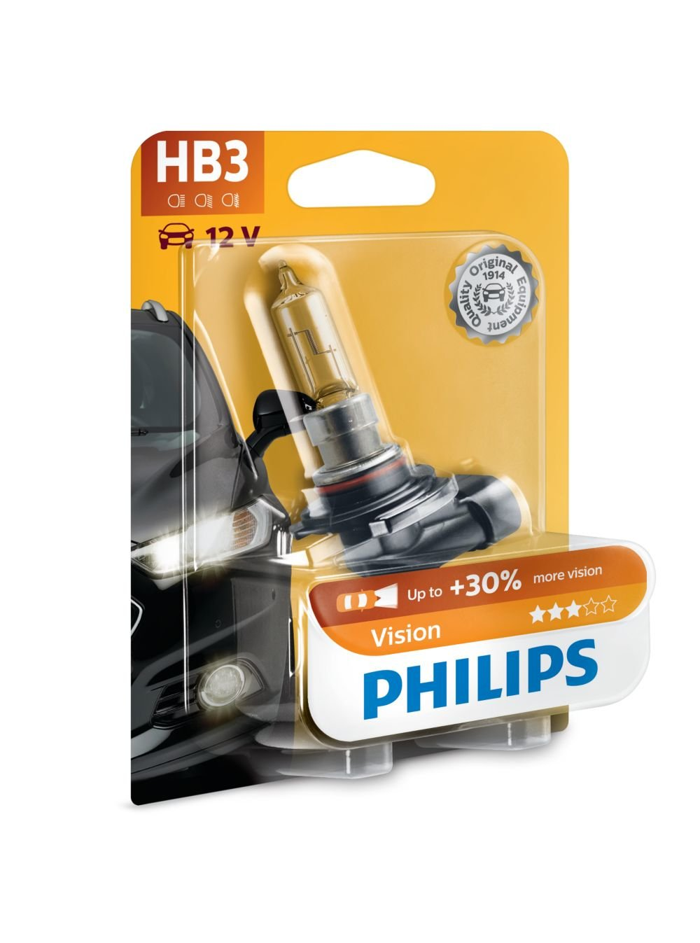 Philips 9005PRB1 Premium - Bombilla HB3 para faros delanteros (1 unidad, 12 V, 60 W): Amazon.es: Coche y moto