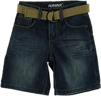 Amazon.com: Flypaper Jeans Boys 8-20 Regular Belted Denim