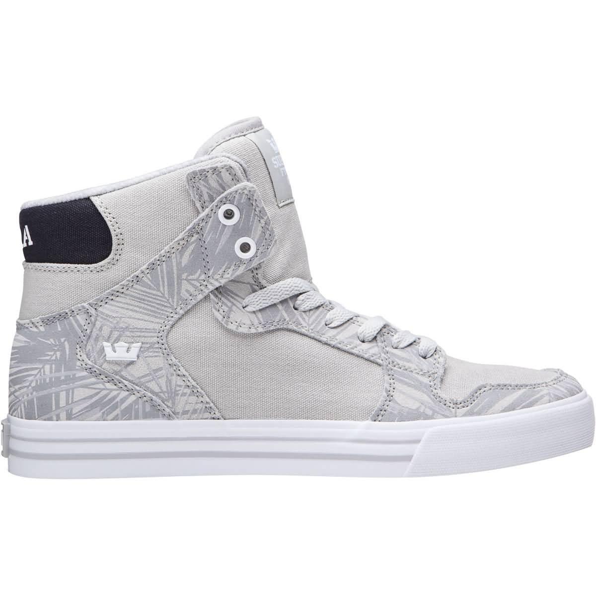 Supra Vaider LC Sneaker B079JBM12Y 12 M US|Cool Grey-white
