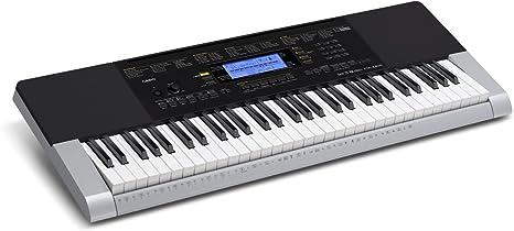 Casio Ctk-4400 - Teclado electrónico (61 teclas, con acompañamiento y altavoces), color negro y gris: Amazon.es: Instrumentos musicales