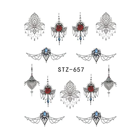 Ruiboury Uñas de manicura del Arte Abstracto de la Etiqueta ...