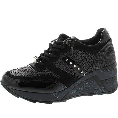 817f910c19a18a Cetti Damen Sneaker C-1152 SRA Boutique Negro Gr. 38