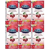 Pedialyte Electrolyte Powder, Electrolyte Drink, Cherry, Powder Sticks, 6 Pcs of 0.6 Oz Packets (Pack of 6)