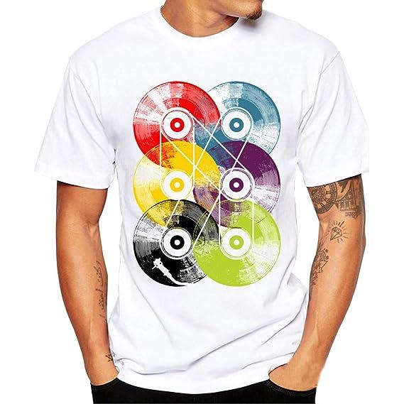 Bestow Camiseta de Manga Corta, Camiseta de Manga Corta, Blusa para Hombre Camiseta de Manga Corta para Hombre: Amazon.es: Ropa y accesorios