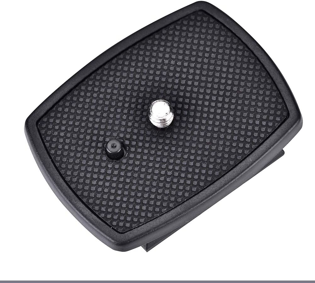 Durable Quick Release Plate Clamp Anti-Rust Tripod Head Adapter Tripod Accessories for Digital Camera Delaman Quick Release Plate