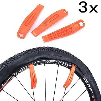 JZK 3 Palancas de neumáticos de Bicicleta Premium endurecido ...