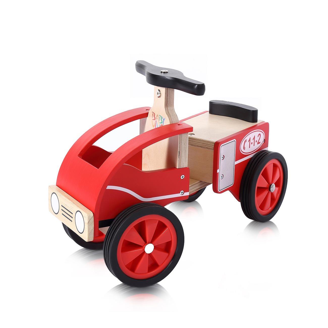 Baby Vivo Feuerwehr Rutscher aus Holz
