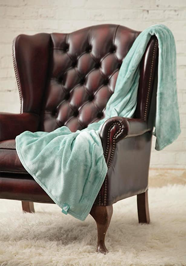 1.7 TOG Soft Warm Oversized Thick Thermal Fleece Throw Blanket Heat Holders