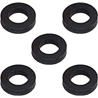Joints noirs pour adaptateur (côté cylindre pour remplissage de gaz CO2 de grande contenance dans la 425 g cylindres compatibles avec les cylindres Grohe Blue Home, Sodastream CO2 bouteille cylindrique