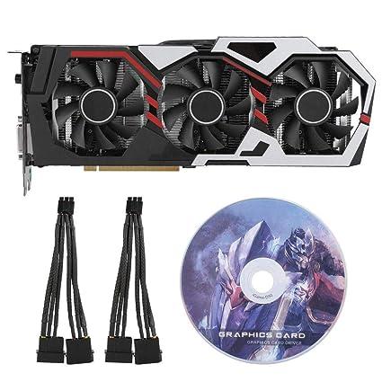 ASHATA Tarjeta Gráfica GeForce GTX 1060 con CD-ROM Tablero ...