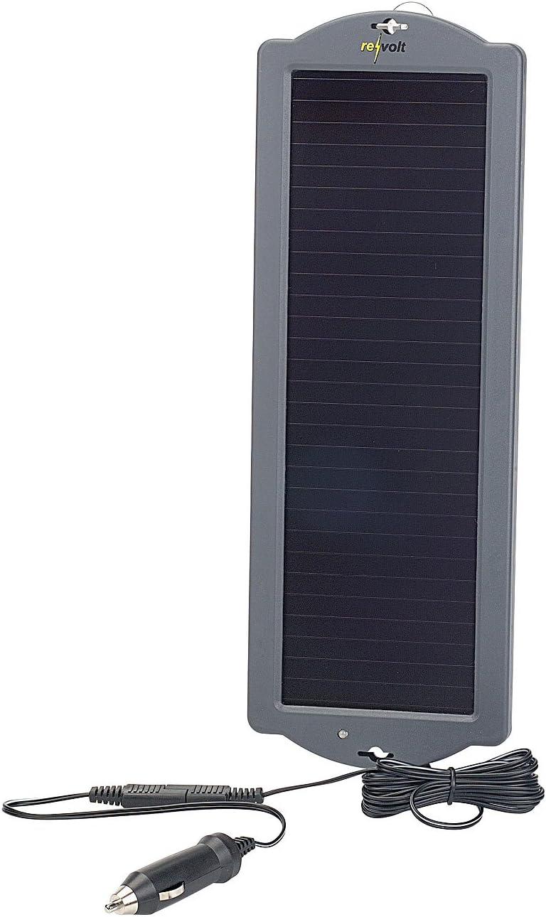 ECOWORTHY 12/V 5/W Portatile Pannello Solare Potenza di Carica della Batteria di Backup per Moto Auto Barca