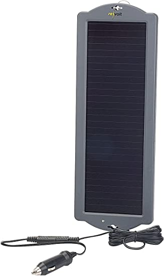 Revolt Solar Batterieladegerat Erhaltungs Solargerat Fur Auto Pkw Batterie 12v 1 5w Solar Auto Amazon De Auto