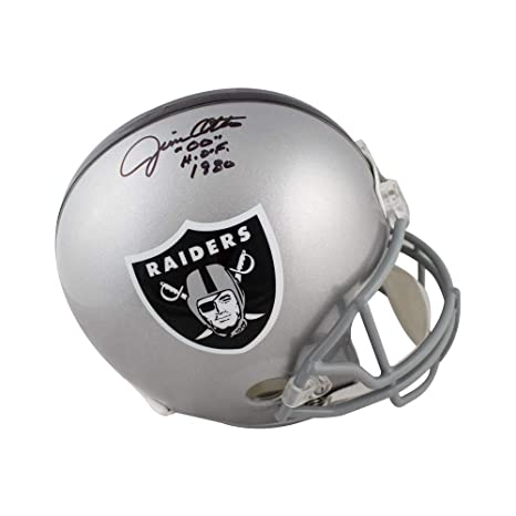 05456847731 Amazon.com  Jim Otto HOF Autographed Oakland Raiders Full-Size Football  Helmet - JSA COA  Sports Collectibles