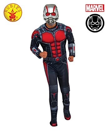 Rubies Mens Ant-Man Deluxe Costume, Multi, X-Large