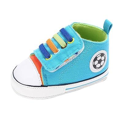 2eec66a68937a Chaussures Bébé Binggong Nouveau-né Berceau Doux Semelle Chaussures  Sneakers Cuir Souple Premiers Pas -