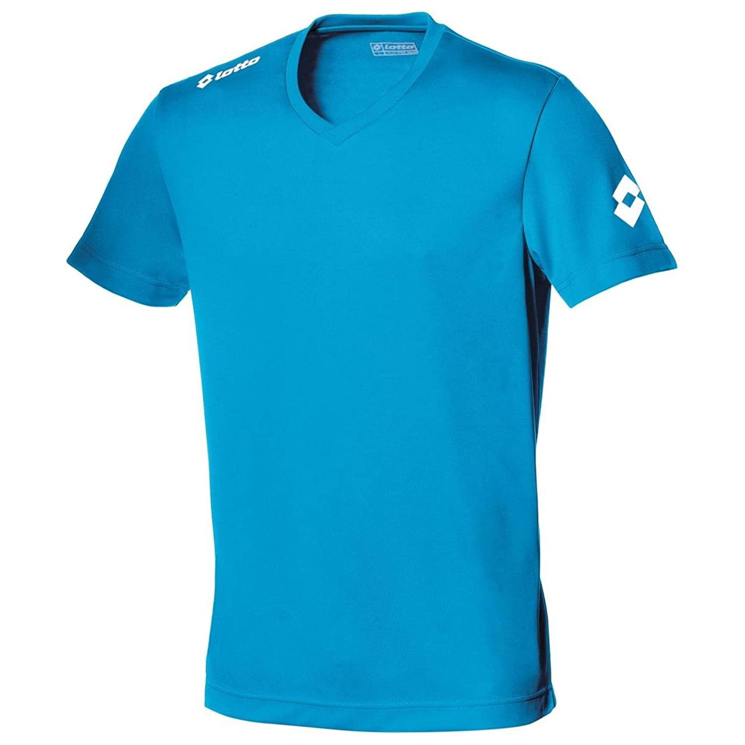 New Lotto Football Jersey Team Evo Traditional V Neck Fast dry Mens Sports Shirt