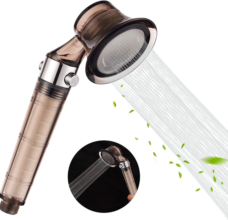 Shower Heads High Pressure Water Save Showerhead Handheld Bathing Handset Tool