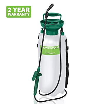 Powerplus 8L Litre Tank Garden Pressure Sprayer Pump Action Spray